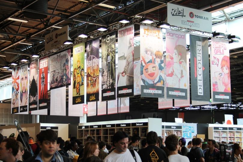 Japan expo - éditeurs © Ibule