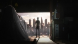 Psycho-Pass_s01e18_Kogami-in-harbour-at-dusk_01